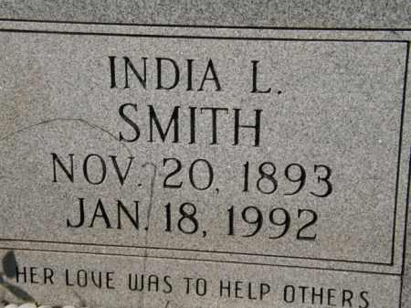 SMITH, INDIA L - La Salle County, Louisiana   INDIA L SMITH - Louisiana Gravestone Photos
