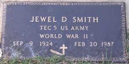 SMITH, JEWEL D (VETERAN WWII) - La Salle County, Louisiana   JEWEL D (VETERAN WWII) SMITH - Louisiana Gravestone Photos