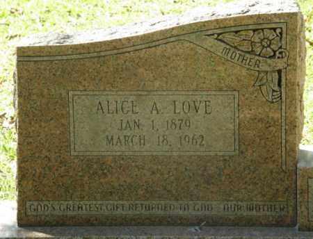WHIDDON, ALICE A - La Salle County, Louisiana | ALICE A WHIDDON - Louisiana Gravestone Photos