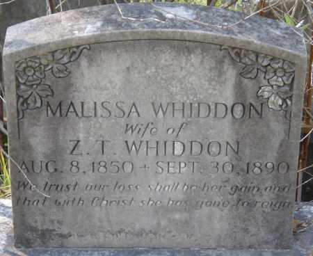 WHIDDON, MALISSA - La Salle County, Louisiana | MALISSA WHIDDON - Louisiana Gravestone Photos