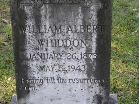 WHIDDON, WILLIAM ALBERT - La Salle County, Louisiana | WILLIAM ALBERT WHIDDON - Louisiana Gravestone Photos