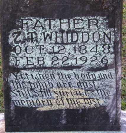 WHIDDON, ZACHARIA TAYLOR - La Salle County, Louisiana | ZACHARIA TAYLOR WHIDDON - Louisiana Gravestone Photos
