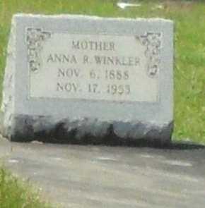 WINKLER, ANNA AMANDA - La Salle County, Louisiana   ANNA AMANDA WINKLER - Louisiana Gravestone Photos
