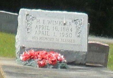 "WINKLER, HERMAN ERNEST ""H E "" - La Salle County, Louisiana | HERMAN ERNEST ""H E "" WINKLER - Louisiana Gravestone Photos"