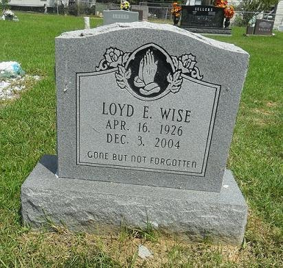 WISE, LOYD E - La Salle County, Louisiana | LOYD E WISE - Louisiana Gravestone Photos