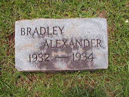 ALEXANDER, BRADLEY - Lincoln County, Louisiana | BRADLEY ALEXANDER - Louisiana Gravestone Photos