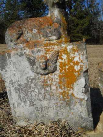 ANDERSON, CLEVELAND - Lincoln County, Louisiana   CLEVELAND ANDERSON - Louisiana Gravestone Photos