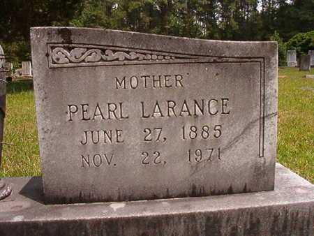LARANCE ANSLEY, PEARL (CLOSE UP) - Lincoln County, Louisiana | PEARL (CLOSE UP) LARANCE ANSLEY - Louisiana Gravestone Photos