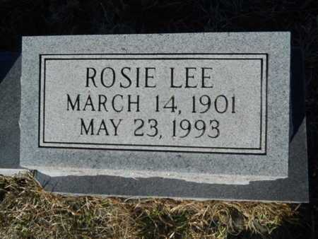 ASHLEY, ROSIE LEE (CLOSE UP) - Lincoln County, Louisiana   ROSIE LEE (CLOSE UP) ASHLEY - Louisiana Gravestone Photos