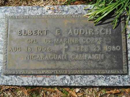 AUDIRSCH, ELBERT E (VETERAN) - Lincoln County, Louisiana   ELBERT E (VETERAN) AUDIRSCH - Louisiana Gravestone Photos