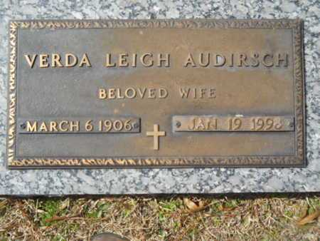 AUDIRSCH, VERDA LEIGH - Lincoln County, Louisiana | VERDA LEIGH AUDIRSCH - Louisiana Gravestone Photos
