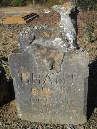 BALDWIN, GRANT - Lincoln County, Louisiana | GRANT BALDWIN - Louisiana Gravestone Photos