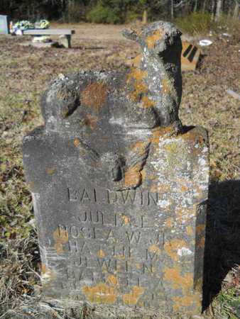 BALDWIN, JULIA E - Lincoln County, Louisiana | JULIA E BALDWIN - Louisiana Gravestone Photos