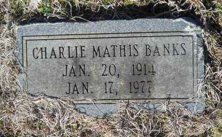 BANKS, CHARLIE MATHIS - Lincoln County, Louisiana | CHARLIE MATHIS BANKS - Louisiana Gravestone Photos