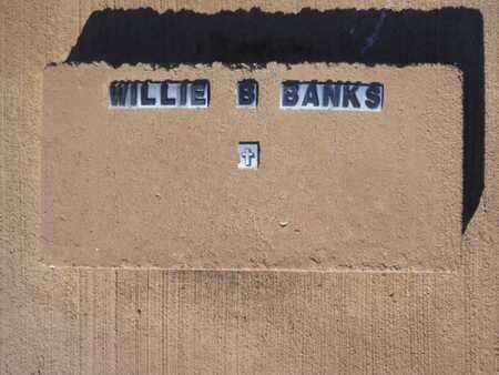 BANKS, WILLIE B - Lincoln County, Louisiana | WILLIE B BANKS - Louisiana Gravestone Photos