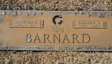 BARNARD, ALFRED A - Lincoln County, Louisiana | ALFRED A BARNARD - Louisiana Gravestone Photos