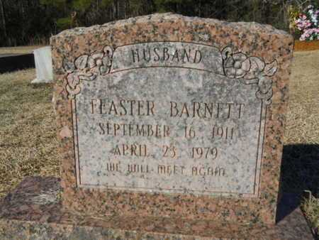 BARNETT, FEASTER - Lincoln County, Louisiana   FEASTER BARNETT - Louisiana Gravestone Photos