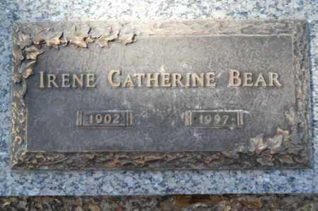 BEAR, IRENE CATHERINE - Lincoln County, Louisiana   IRENE CATHERINE BEAR - Louisiana Gravestone Photos