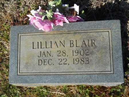 BLAIR, LILLIAN - Lincoln County, Louisiana | LILLIAN BLAIR - Louisiana Gravestone Photos