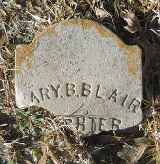 BLAIR, MARY B - Lincoln County, Louisiana | MARY B BLAIR - Louisiana Gravestone Photos