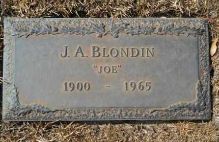 "BLONDIN, J A ""JOE"" - Lincoln County, Louisiana | J A ""JOE"" BLONDIN - Louisiana Gravestone Photos"