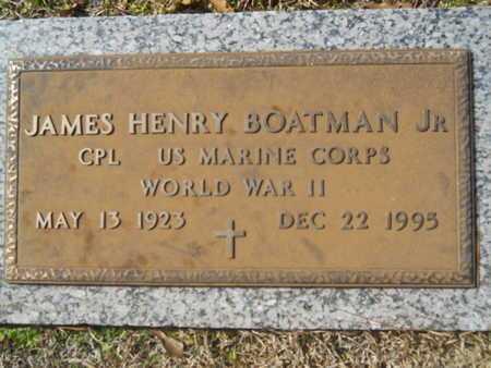 BOATMAN, JAMES HENRY, JR (VETERAN WWII) - Lincoln County, Louisiana | JAMES HENRY, JR (VETERAN WWII) BOATMAN - Louisiana Gravestone Photos