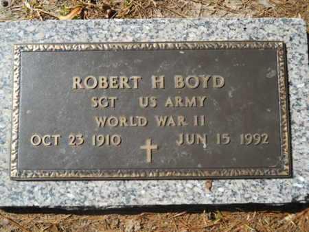 BOYD, ROBERT H (VETERAN WWII) - Lincoln County, Louisiana   ROBERT H (VETERAN WWII) BOYD - Louisiana Gravestone Photos