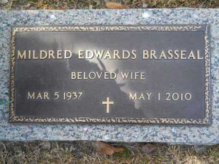 EDWARDS BRASSEAL, MILDRED - Lincoln County, Louisiana | MILDRED EDWARDS BRASSEAL - Louisiana Gravestone Photos
