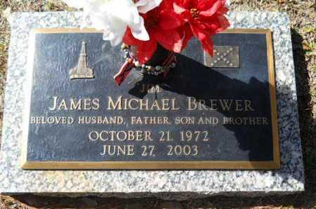 BREWER, JAMES MICHAEL - Lincoln County, Louisiana | JAMES MICHAEL BREWER - Louisiana Gravestone Photos