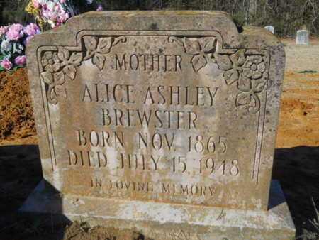 BREWSTER, ALICE - Lincoln County, Louisiana   ALICE BREWSTER - Louisiana Gravestone Photos