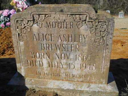ASHLEY BREWSTER, ALICE - Lincoln County, Louisiana | ALICE ASHLEY BREWSTER - Louisiana Gravestone Photos