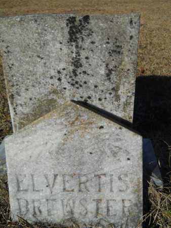 BREWSTER, ELVERTIS - Lincoln County, Louisiana | ELVERTIS BREWSTER - Louisiana Gravestone Photos