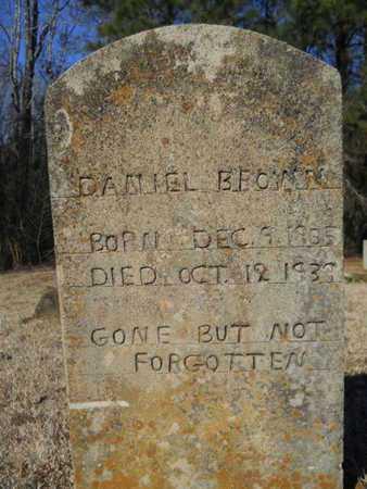 BROWN, DANIEL - Lincoln County, Louisiana | DANIEL BROWN - Louisiana Gravestone Photos