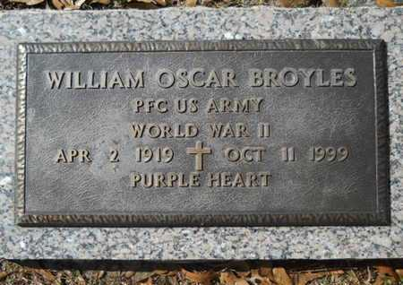 BROYLES, WILLIAM OSCAR (VETERAN WWII) - Lincoln County, Louisiana   WILLIAM OSCAR (VETERAN WWII) BROYLES - Louisiana Gravestone Photos