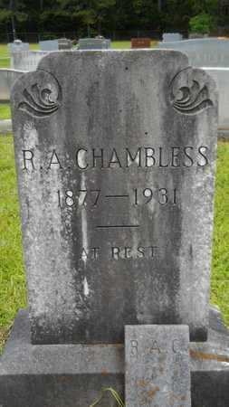 CHAMBLESS, R A - Lincoln County, Louisiana | R A CHAMBLESS - Louisiana Gravestone Photos