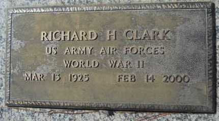 CLARK, RICHARD H (VETERAN WWII) - Lincoln County, Louisiana | RICHARD H (VETERAN WWII) CLARK - Louisiana Gravestone Photos
