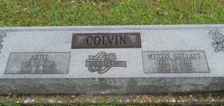COLVIN, MYRTIS - Lincoln County, Louisiana | MYRTIS COLVIN - Louisiana Gravestone Photos