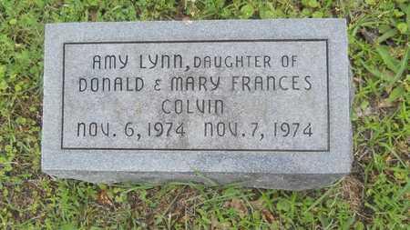 COLVIN, AMY LYNN - Lincoln County, Louisiana | AMY LYNN COLVIN - Louisiana Gravestone Photos
