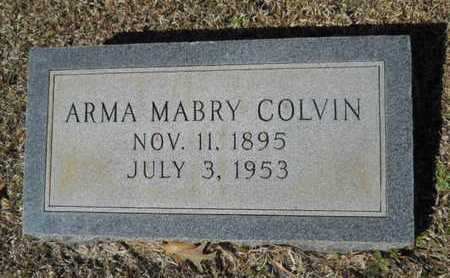 COLVIN, ARMA - Lincoln County, Louisiana   ARMA COLVIN - Louisiana Gravestone Photos