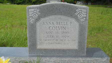 COLVIN, ANNA BELLE F (CLOSE UP) - Lincoln County, Louisiana | ANNA BELLE F (CLOSE UP) COLVIN - Louisiana Gravestone Photos