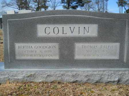 COLVIN, THOMAS RALPH - Lincoln County, Louisiana | THOMAS RALPH COLVIN - Louisiana Gravestone Photos