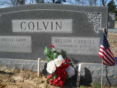 COLVIN, BELTON CARROLL - Lincoln County, Louisiana | BELTON CARROLL COLVIN - Louisiana Gravestone Photos