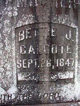 COLVIN, BETTIE J (CLOSE UP) - Lincoln County, Louisiana | BETTIE J (CLOSE UP) COLVIN - Louisiana Gravestone Photos