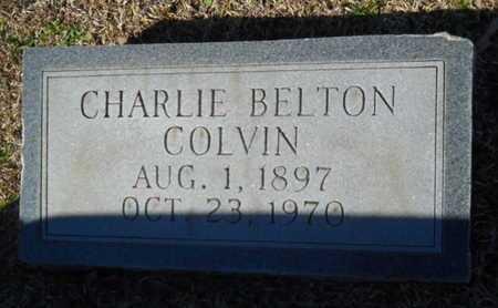 COLVIN, CHARLIE BELTON - Lincoln County, Louisiana | CHARLIE BELTON COLVIN - Louisiana Gravestone Photos