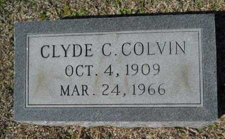 COLVIN, CLYDE C - Lincoln County, Louisiana | CLYDE C COLVIN - Louisiana Gravestone Photos