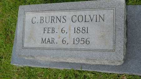 COLVIN, C BURNS - Lincoln County, Louisiana | C BURNS COLVIN - Louisiana Gravestone Photos