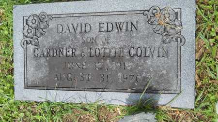 COLVIN, DAVID EDWIN - Lincoln County, Louisiana | DAVID EDWIN COLVIN - Louisiana Gravestone Photos