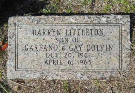 COLVIN, DARREN LITTLETON - Lincoln County, Louisiana | DARREN LITTLETON COLVIN - Louisiana Gravestone Photos