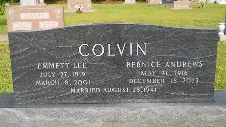COLVIN, BERNICE - Lincoln County, Louisiana | BERNICE COLVIN - Louisiana Gravestone Photos