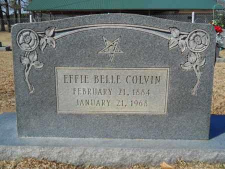 COLVIN, EFFIE BELLE - Lincoln County, Louisiana | EFFIE BELLE COLVIN - Louisiana Gravestone Photos